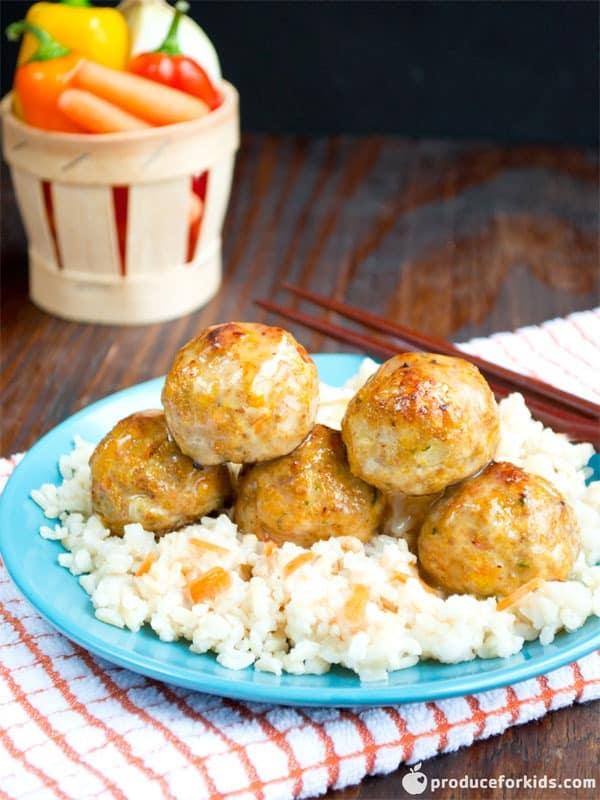 Hidden Veggie Turkey Meatballs