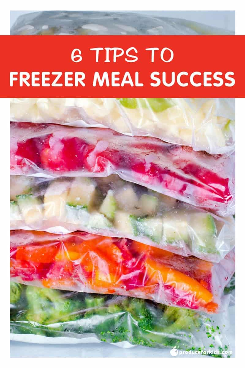 6 Tips for Freezer Meal Success - Filling your freezer with prepped meals is a great way to save time and money in the kitchen. When you prepare meals for the freezer it allows you to batch cook and take advantage of sales at the grocery store or wholesale clubs. Plus you won't feel the need to get take-out as often!